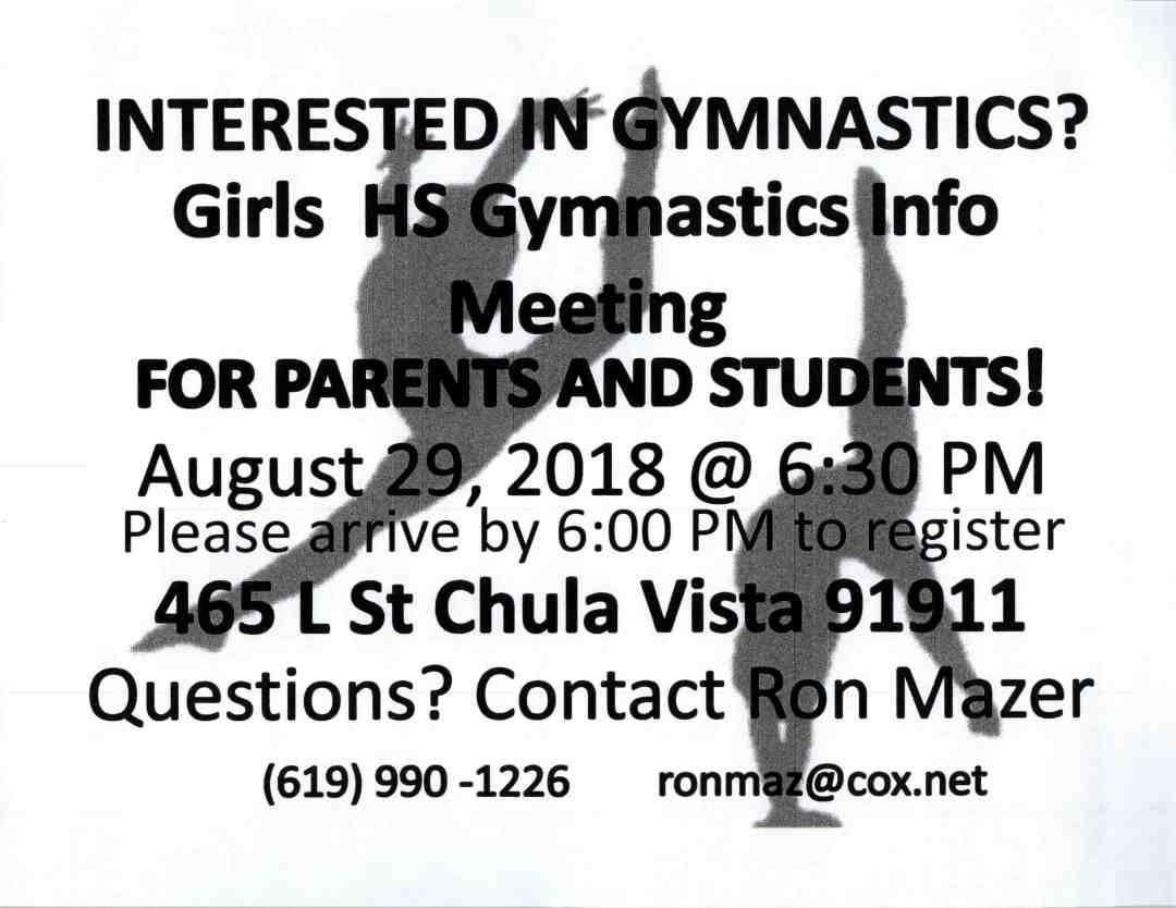 gymnastics flyers